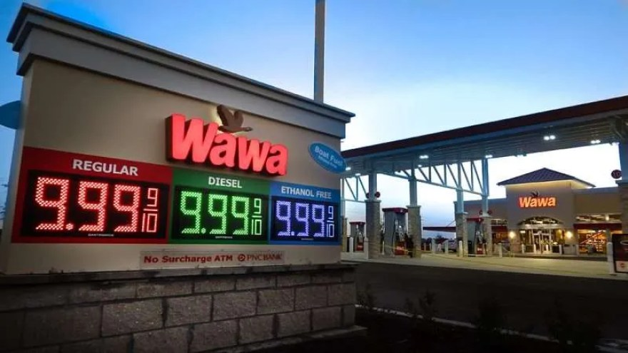 Wawa gas stations are a common source of ethanol-free fuel when a marina is not available.