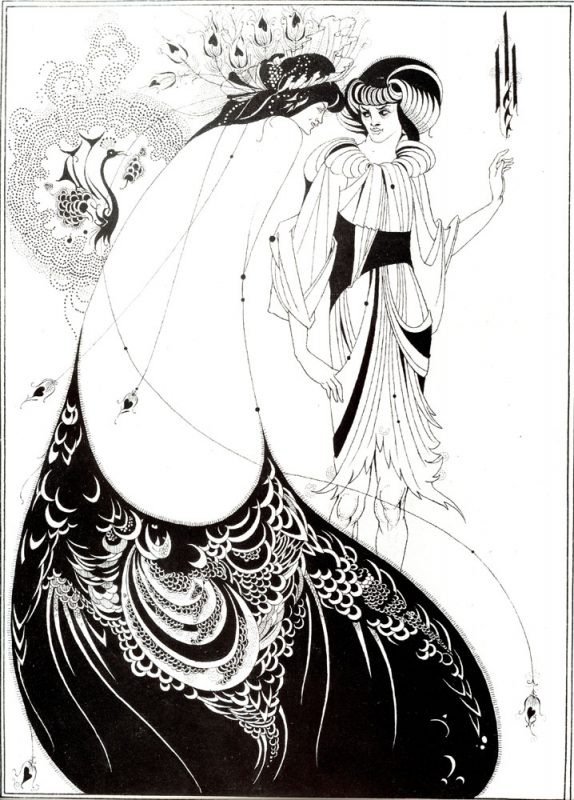 Beardsley's Peacock Skirt