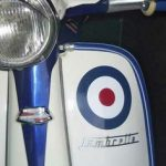 RAF roundel on Lambretta scooter