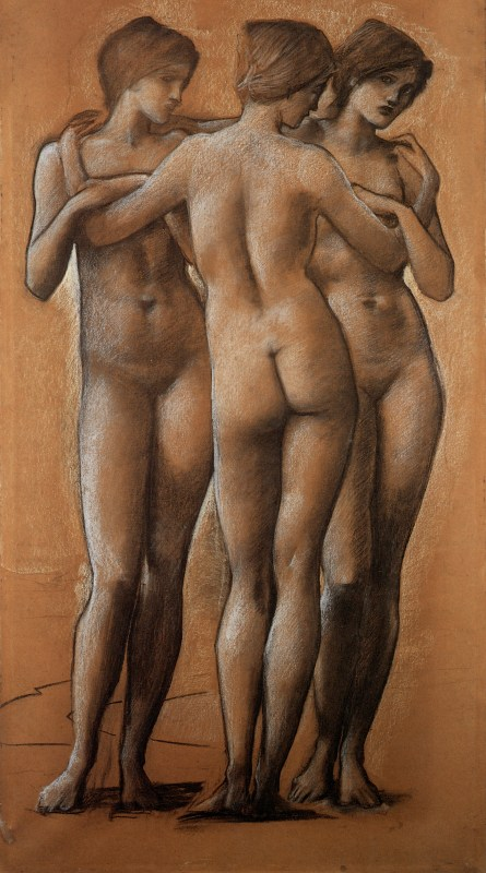Burne-Jones Three graces