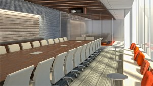 Boston Boardroom Interior