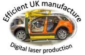 Digital laser manufacturing