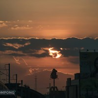 City Sunset on EDSA