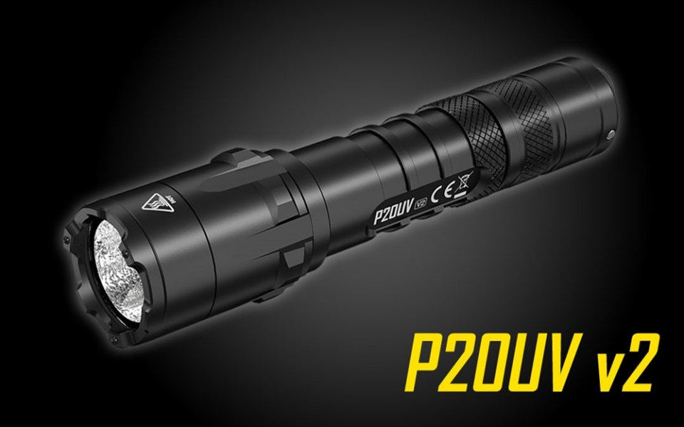 Nitecore P20UV V2 tactical flashlight