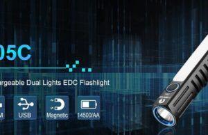 Lumintop EDC05 AA flashlight