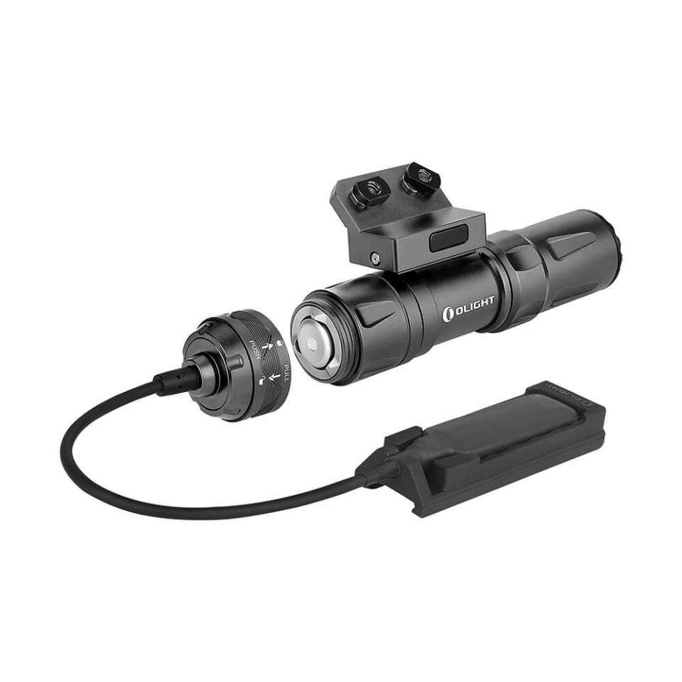 Olight Odin Mini weapon mounted light with remote switch and magnetic charging