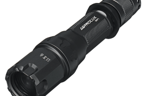 astrolux wp1 laser LED flashlight with rotary switch