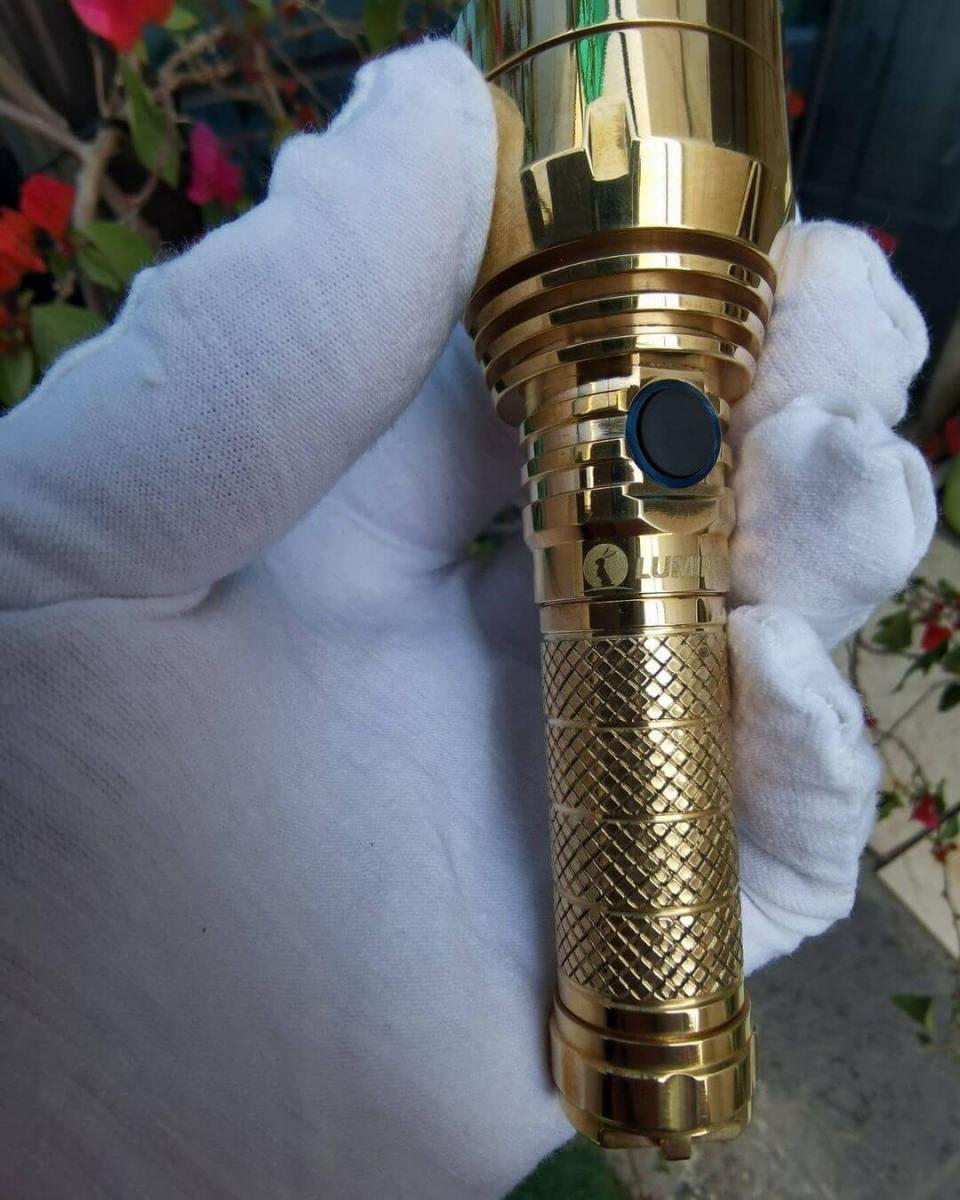 Lumintop brass  GT Micro