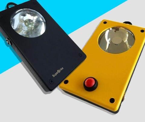 Super Strike flashlight for firefighters