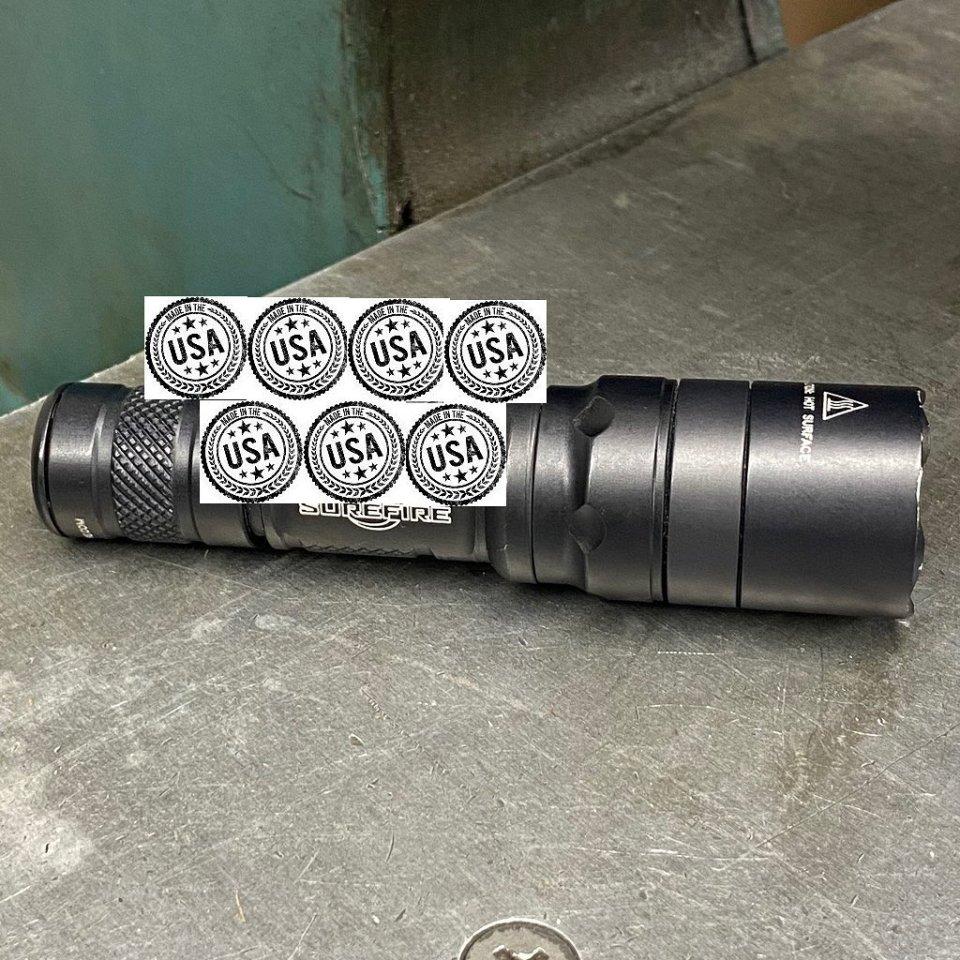 Discrete Carry Concepts tease of a flashlight clip on a surefire
