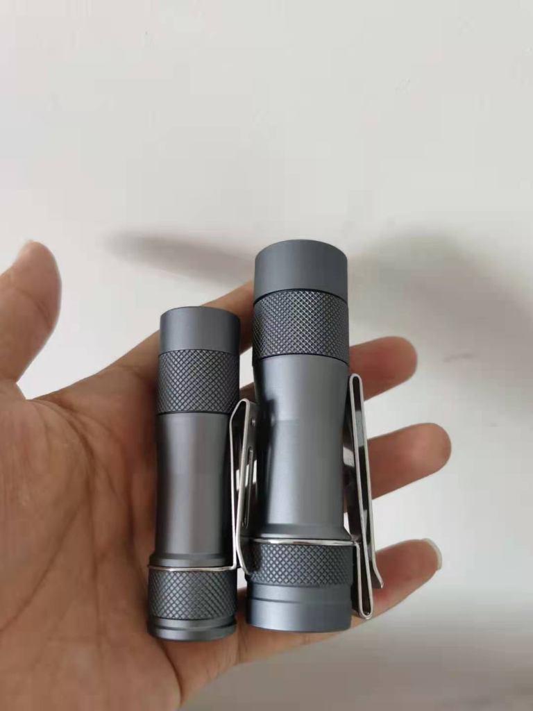 Lumintop 14500 version of the FW3A flashlight