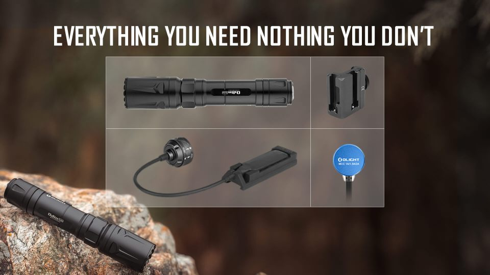 olight odin turbo whats in the box