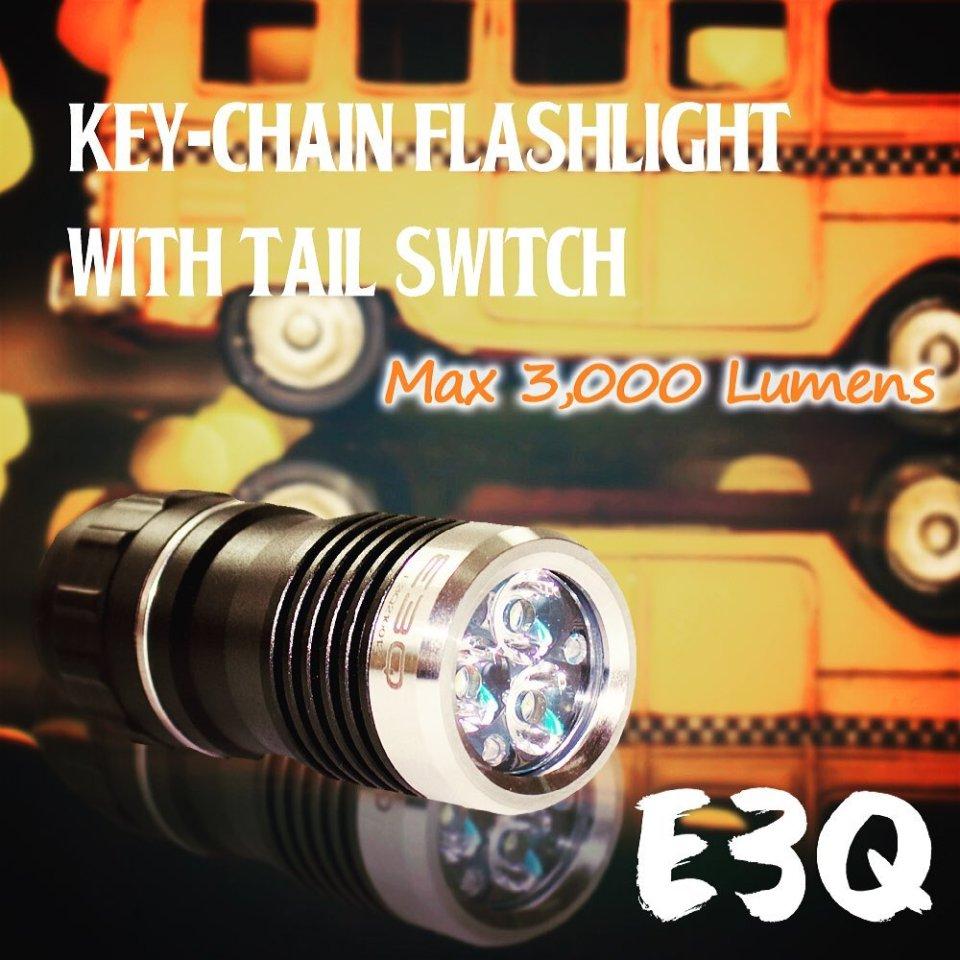 Amutorch E3Q keychain flashlight