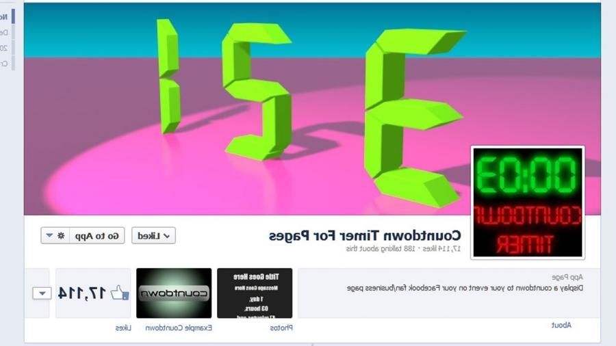 Clock Facebook Countdown Free