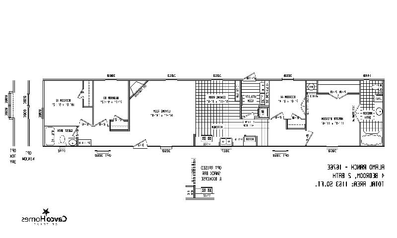 Floor Plans Wide Bedroom Homes Manufactured Triple 5