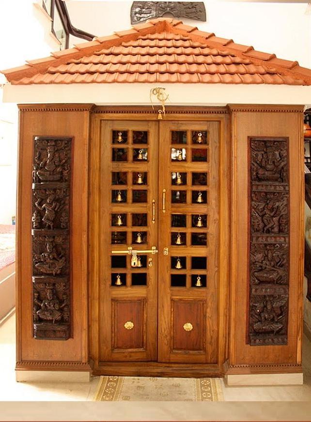 Pooja Room Door Designs Photos