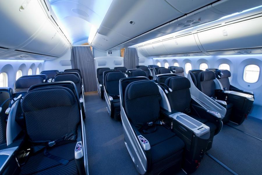 Interior Photos Of Boeing 787
