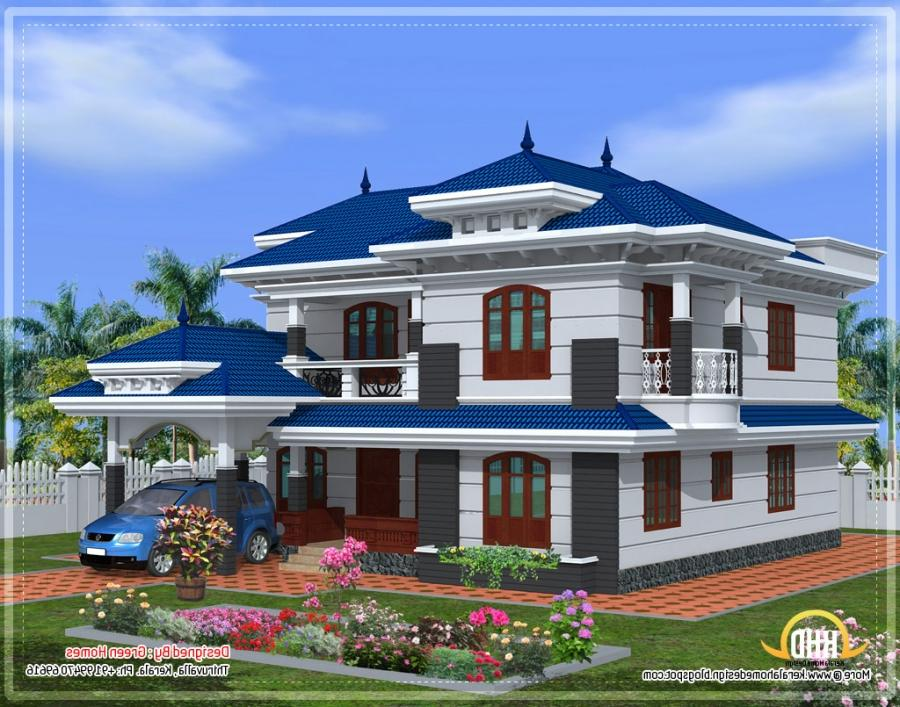 Beautiful House Plans With Photos In Kerala