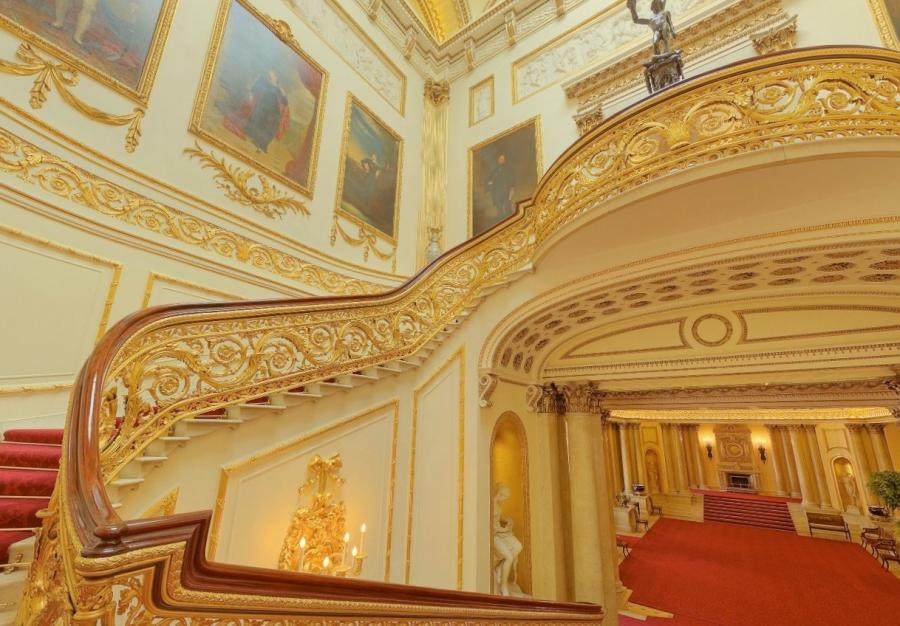 Buckingham Palace Interior Photos