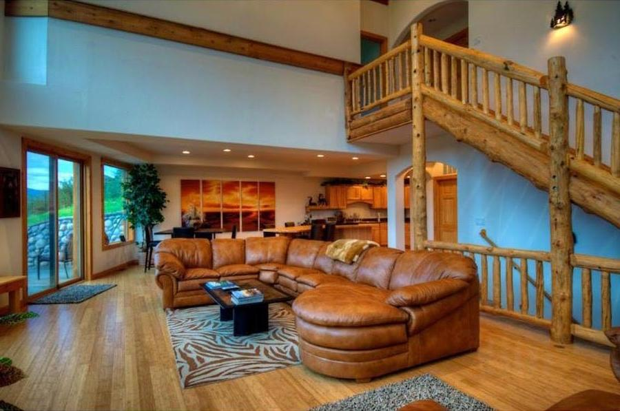 Beautiful Log Home Interiors