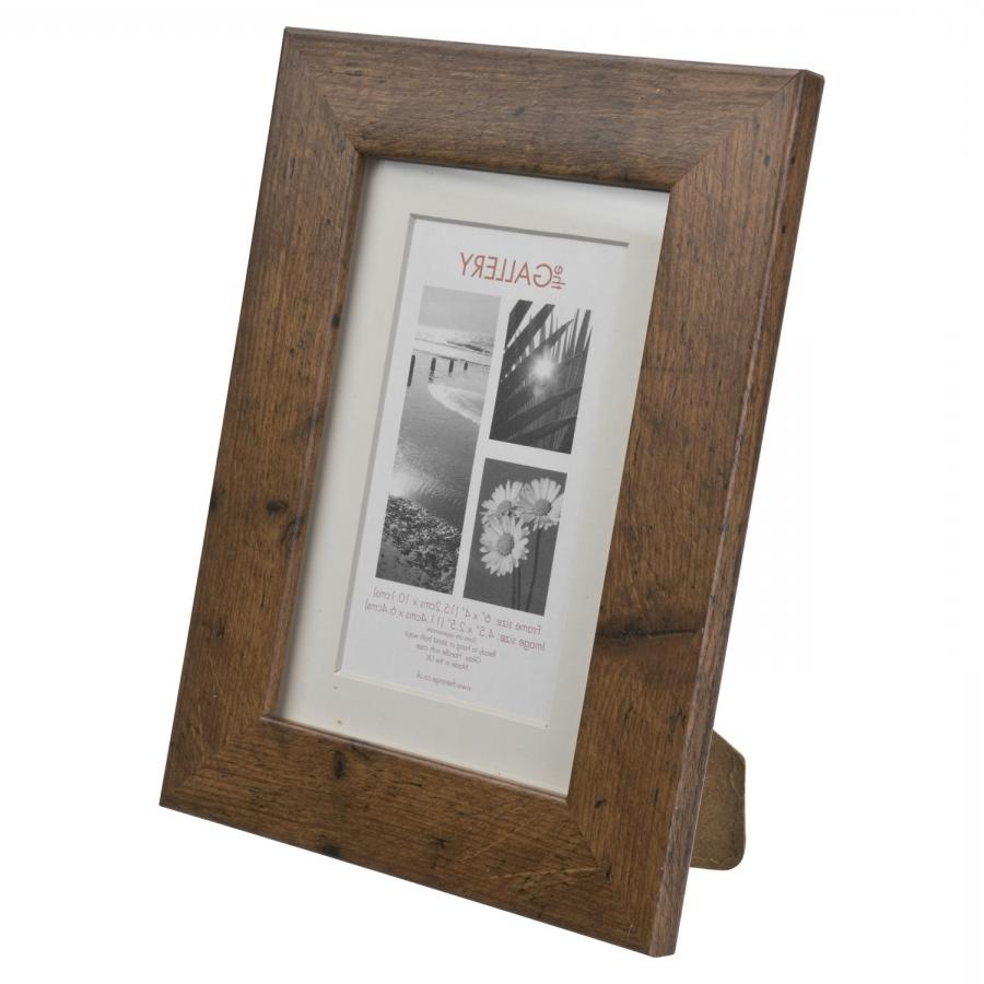 Glass Block Picture Frame 5x7