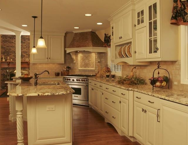 Kitchen Island French Country Style