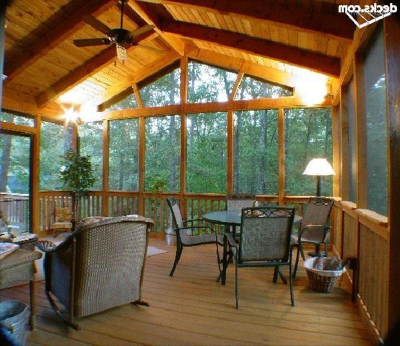 Post And Beam Porch Photos