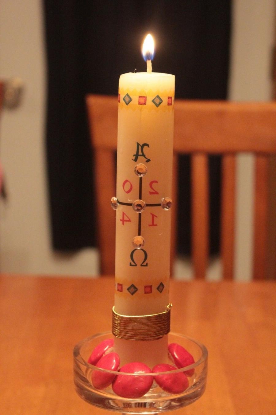 Easter Paschal 2014 Candles