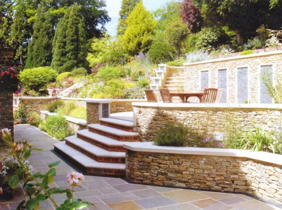 Photos of tiered gardens on Tiered Yard Ideas  id=96916