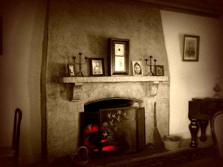 Adobe Fireplace Photos