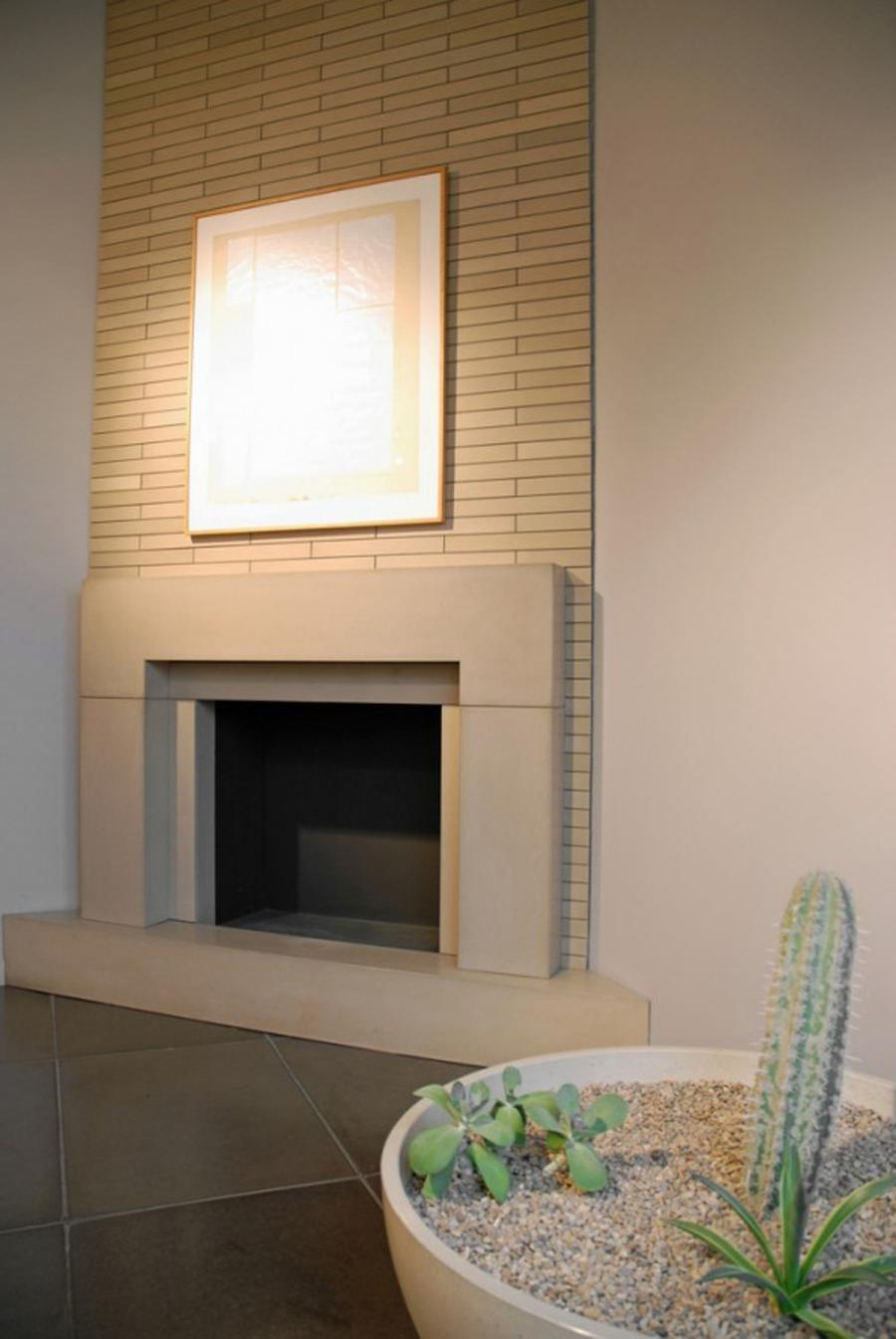Contemporary Fireplace Mantel Photos