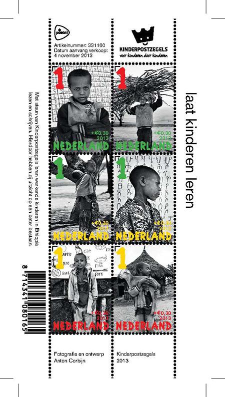 Kinderpostzegels Corbijn zijn klaar