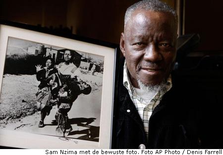 Sam Nzima krijgt onderscheiding voor foto van de opstand in Soweto 1976