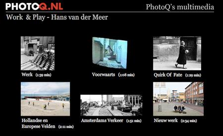 Work & Play – Hans van der Meer