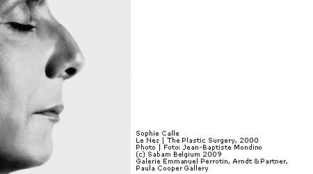 Sophie Calle in Brussel
