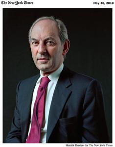Kerstens portretteert Job Cohen voor NYT Magazine