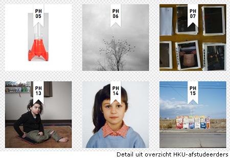 Overzicht eindexamens fotografie-opleidingen