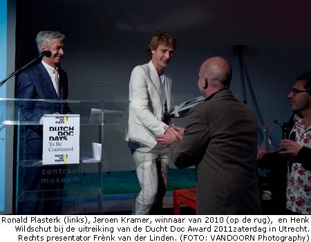 Henk Wildschut wint Dutch Doc Award met 'Shelter'