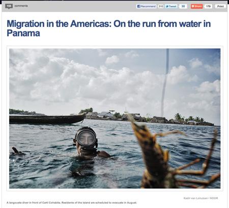 Fotoblog MSNBC komt met Via Panam