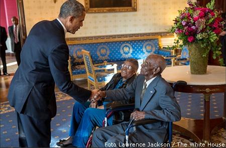 Amerikaanse pers mokt over fotobeleid Witte Huis