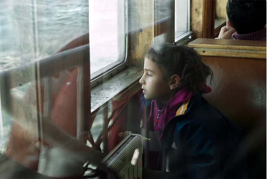Nicole Segers - The ferry of Istanbul