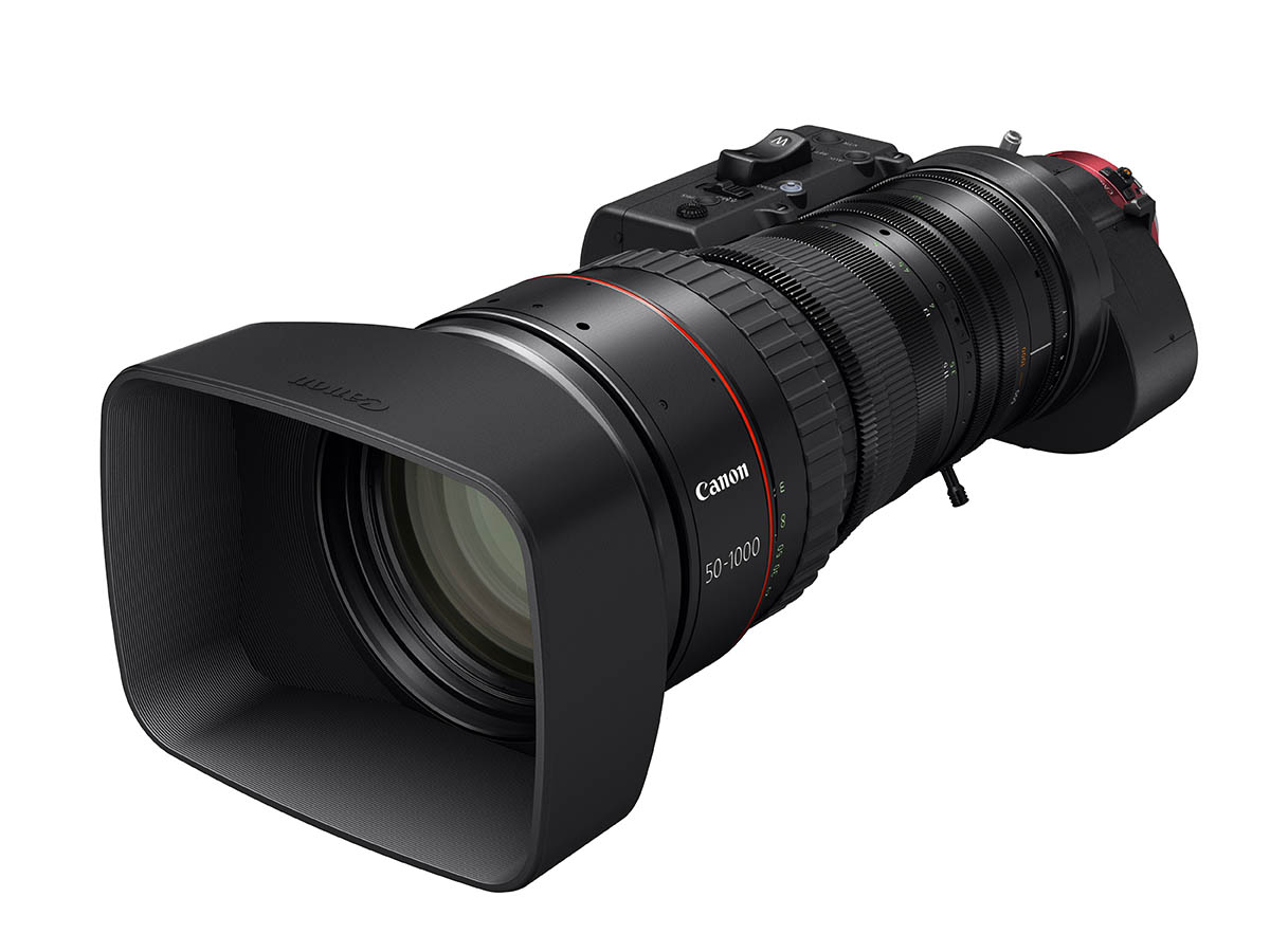 Ultra-tele cineobjectief: Canon CN20x50