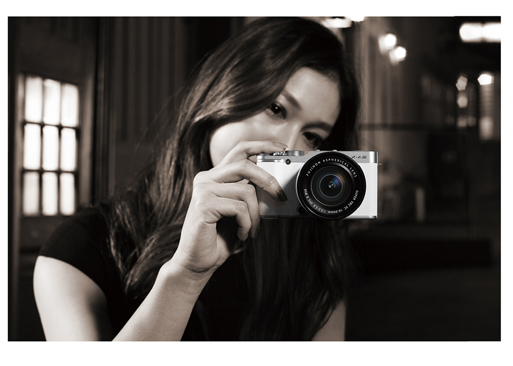 Camera met selfie-scherm: Fujifilm X-A2