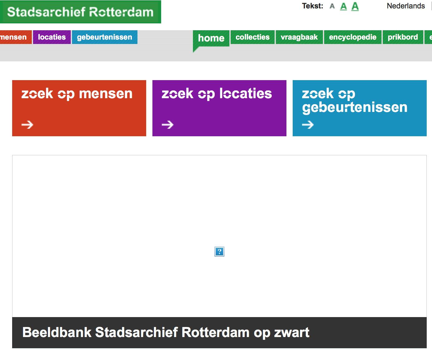 Stadsarchief Rotterdam haalt na vonnis alle beelden van site