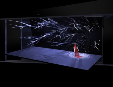 μελέτη σκηνικού όπερας
