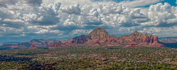 West Sedona from Airport