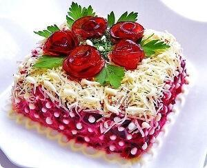 Салат под шубой рецепт с фото пошагово - Клуб ...