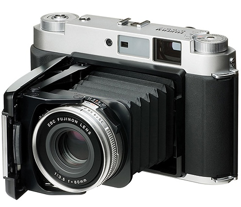 Fujifilm GF670 Fuji GF670W medium format film camera to be released next month