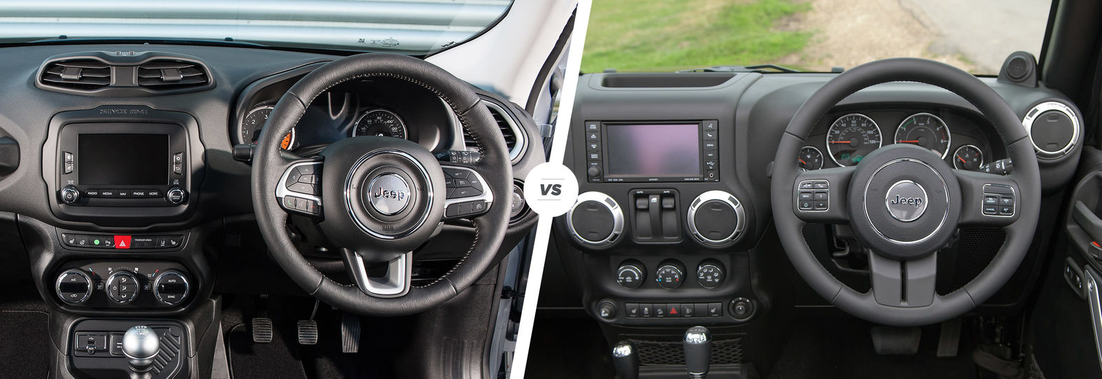 Jeep Renegade Vs Wrangler Which Is Best Carwow