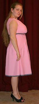 My pink 50's dress